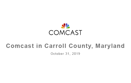 Comcast meets with Board of Carroll County Commissioners