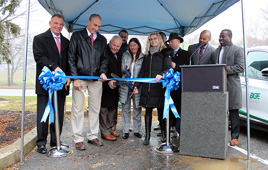 Ribbon Cutting Event Opens EV Charging Station