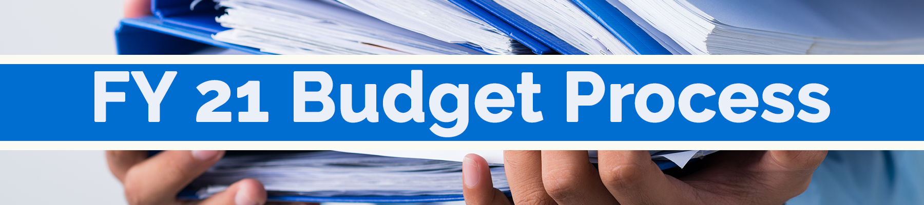 FY21 Proposed Budget Work Session March 31, 2020 Afternoon