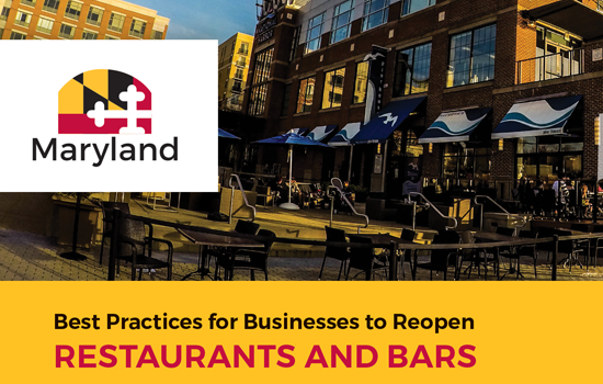 Best Practices for Businesses to Reopen RESTAURANTS AND BARS