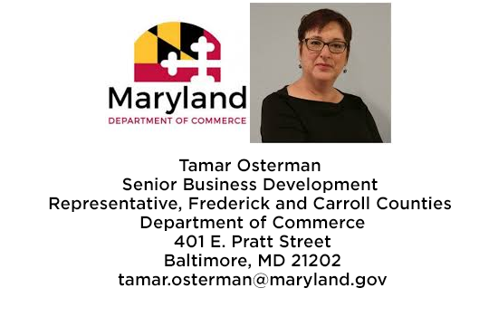 Maryland Department of Commerce Updates