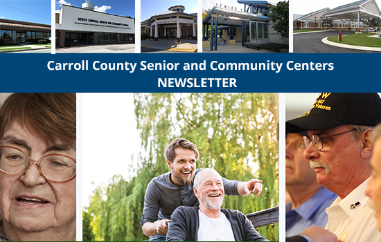 NEW Online Senior Center Newsletter