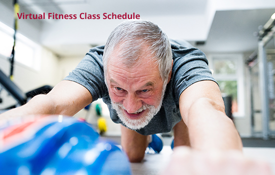NEW Virtual Fitness Class Schedule