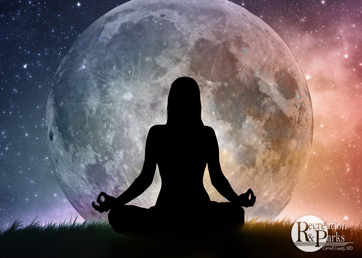 Full Moon Yoga in the Park