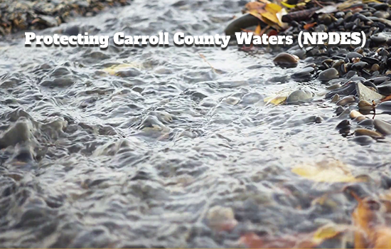 Protecting Carroll County Waters (NPDES)