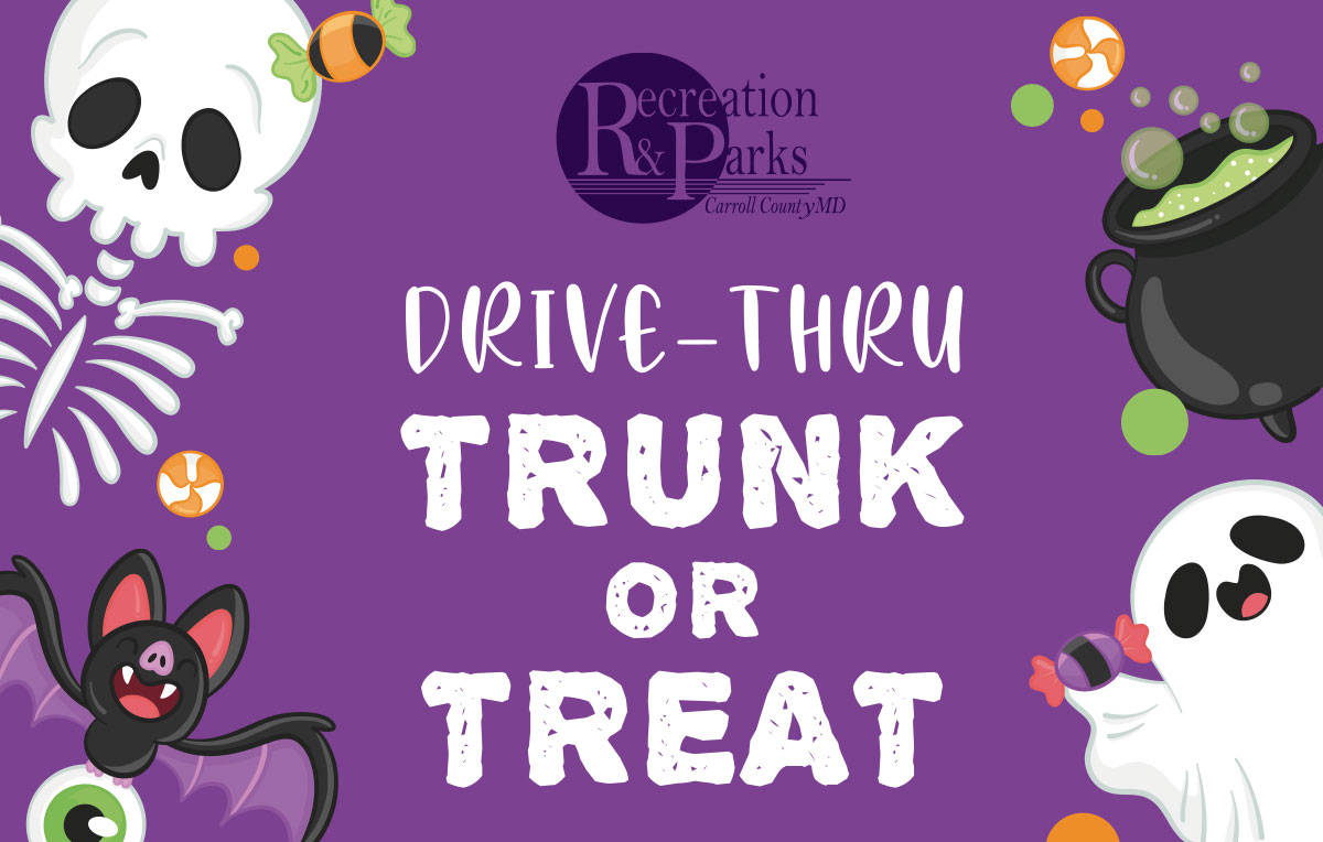 Recreation & Parks Drive-Thru Trunk or Treat