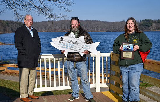Piney Run Park's Big Fish Contest Winner Is...