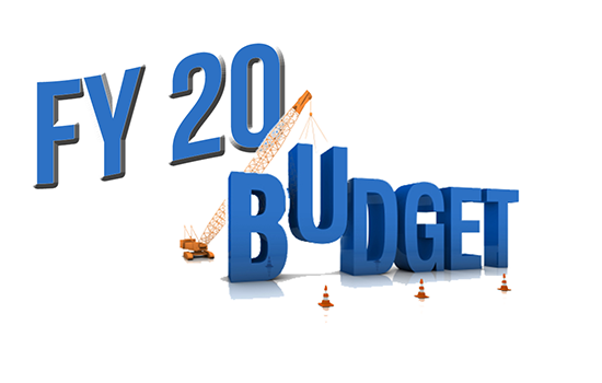 FY20 Proposed Budget Work Session