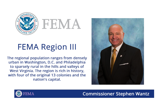 Wantz Appointed to FEMA Regional Advisory Council