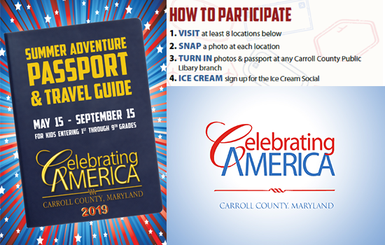 GET YOUR COPY NOW 2019! CELEBRATING AMERICA SUMMER ADVENTURE PASSPORT & TRAVEL GUIDE