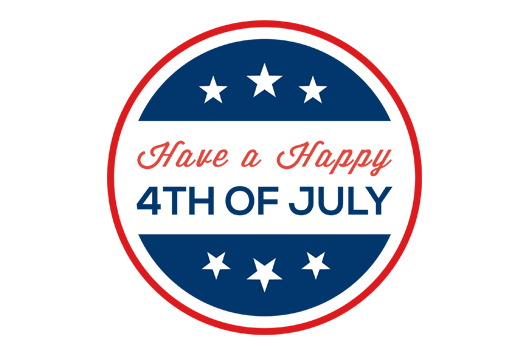County Government Closed July 4th and 5th