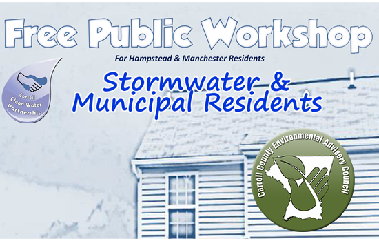 Stormwater Workshop to be Held for Hampstead and Manchester Residents
