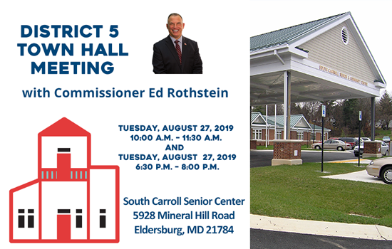 District 5 Town Hall Meetings with Commissioner Ed Rothstein