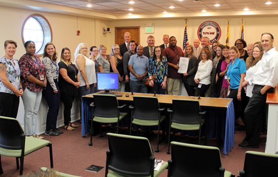 Commissioners Proclaim September as Recovery Month