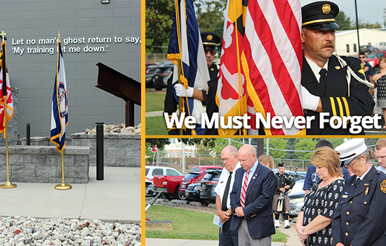 We Must Never Forget- 9/11 Memorial Ceremony